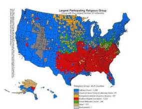 us religion map by county why do some occasionally write american