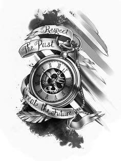 resultado de imagem para clock tattoo designs tattooes