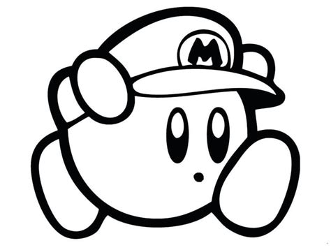 kirby coloring pages 20 free printable kirby coloring pages