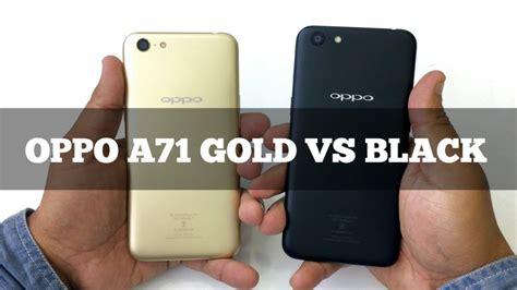 Matte Oppo A71 oppo a71 gold vs black