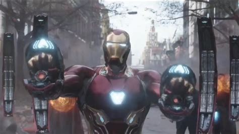 marvel iron mans nanotech suit supposed work