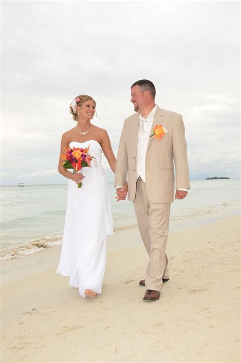 Our perfect wedding day @ Couples Swept Away in Negril