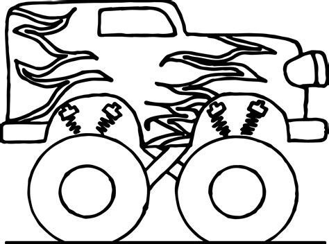 big car coloring page toy car big monster coloring page wecoloringpage