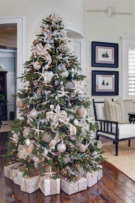decorating tiny chic tree 30 brilliant coastal chic tree decorating ideas