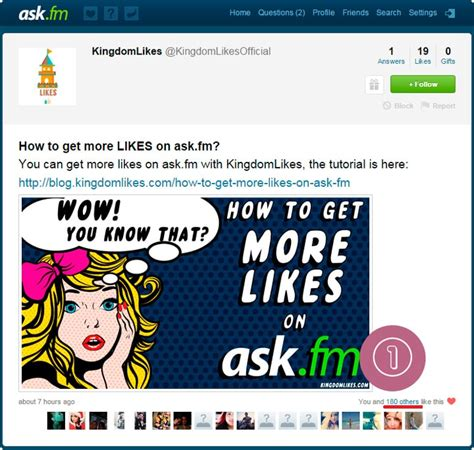 askfm likes how to get more likes on ask fm kingdomlikes