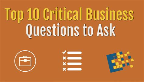 Top Mba Questions by 10 Questions To Ask Yourself About Your Business Ccnytech