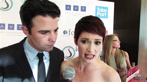 Chyler Leigh & Nathan West Interview   3rd Annual Thirst
