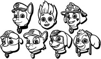 nick jr coloring pages paw patrol galleryhip hippest galleries