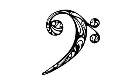bass and treble clef with flash treble bass clef coloring pages