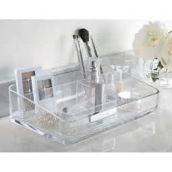 bathroom makeup storage acrylic bathroom and cosmetic organizer in cosmetic organizers