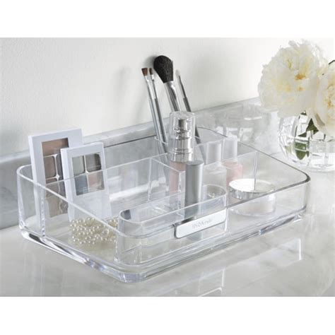 acrylic bathroom and cosmetic organizer in cosmetic organizers