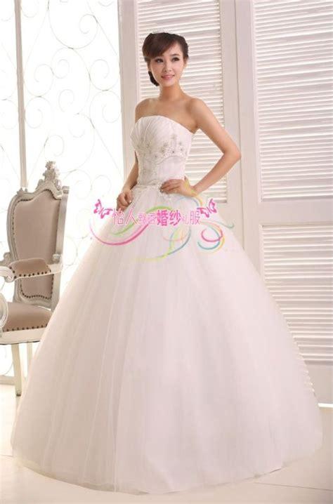 Bolero Penutup Dada Wedding Dress Gaun Import jual wedding dress gaun pengantin payet dada korea 2015