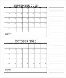 3 month calendar template sle 3 month calendar template 9 documents