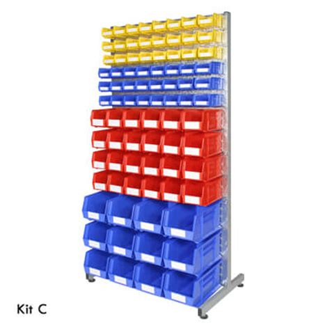 Small Parts Racking by Small Parts Rack Storage Kits Davpack