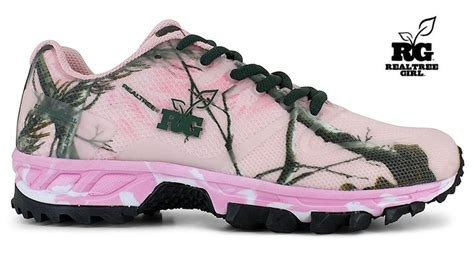 realtree pink camo shoes new realtree pink camo tennis tie shoes http bit