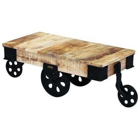 vidaxl co uk vidaxl coffee vidaxl coffee table with wheels mango wood vidaxl co uk