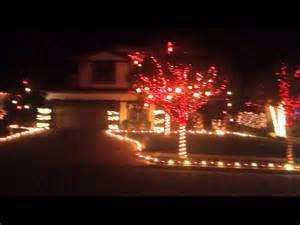 christmas light show yucaipa ca youtube