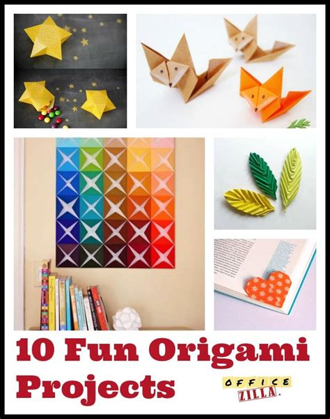 Cool Origami Projects - 324 best diy with office supplies images on