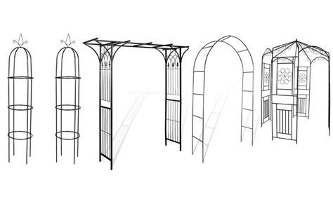 archi per giardino archi giardino in ferro groupon goods