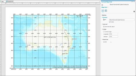Arcgis Pro Layout Grid | work with a grid in arcgis pro