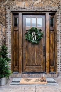 17 best ideas about rustic front doors on