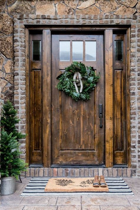 Best Front Doors For Homes Rustic Front Door Ideas Pilotproject Org