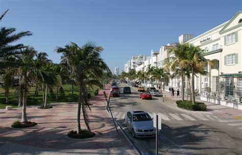south beach ocean drive miami florida usa photo1