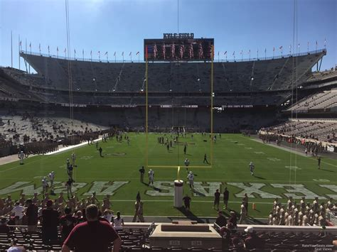 kyle field sections kyle field section 117 rateyourseats com