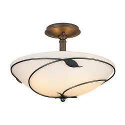 oversized ceiling lights buy the forged leaves semi flush ceiling light large