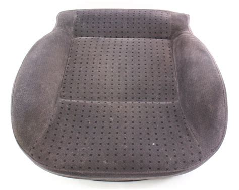front seat cushion cover   vw passat  heated black cloth
