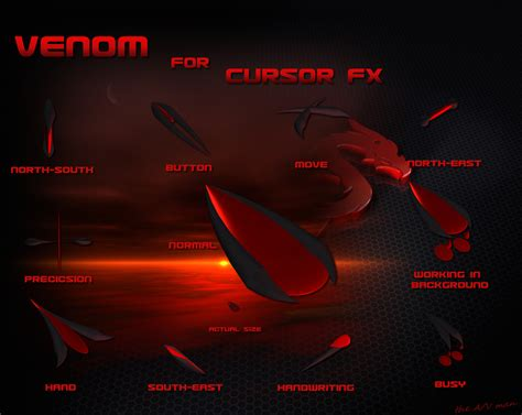 themes ltd cursors venom by grynays on deviantart