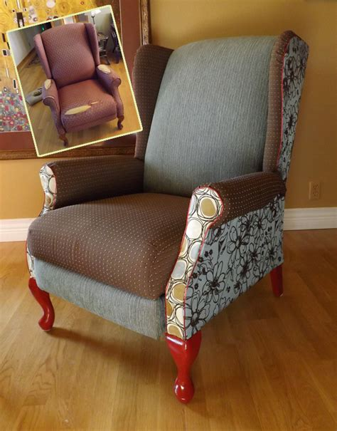 Diy Armchair Upholstery by Diy Wing Chair Upholstery Diypics