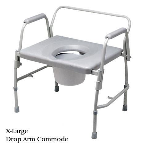 Large Commode Chair bariatric large drop arm commode commode chairs