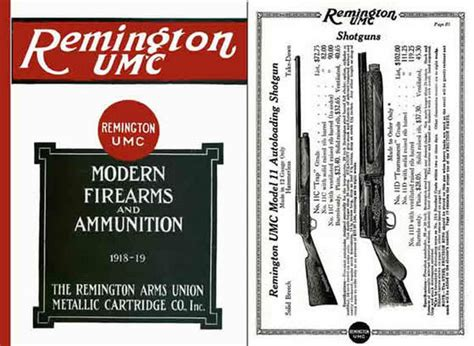 guns ammunition and tackle classic reprint books cornell publications remington 1918 19 gun umc