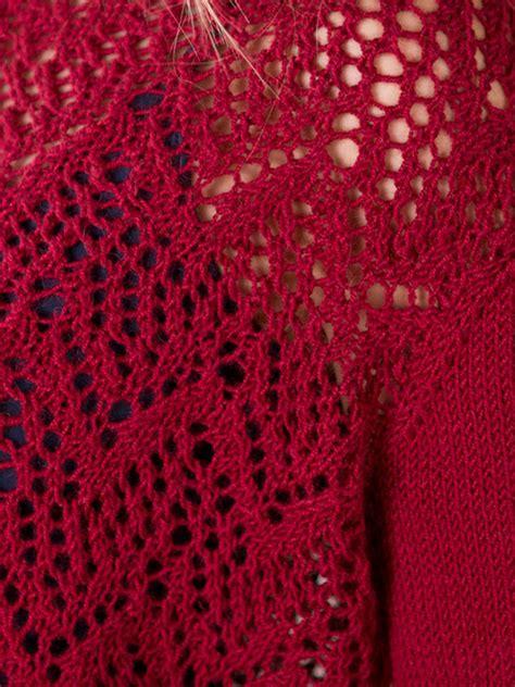 chevron lace scarf knitting pattern winifred chevron lace sweater knitting pattern