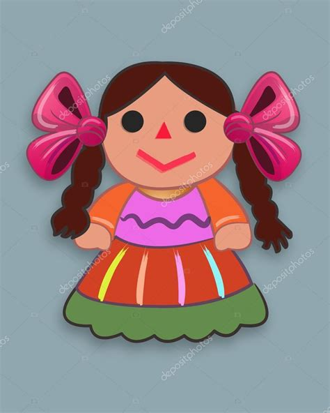 imagenes de muñecas japonesas animadas mu 241 eca de dibujos animados tradicional mexicana archivo