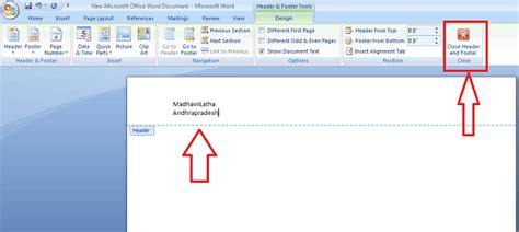 header footer design microsoft word how to insert or remove header and footer in ms word
