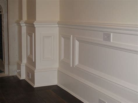 Wainscoting Molding Raised Panel Wainscoting Alliance Cabinets Millwork