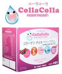 Gluta Drink Box colla colla collagen gluta berry plus for drink with collagen dipeptide l