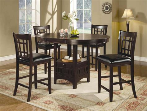 bar dining room table bar height dining table idea