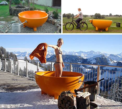 Portable Soaking Bathtub Cup Of Tub Portable Wood Fired Outdoor Soaking Pool