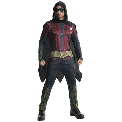 robin costume adults arkham robin dc comics costume dunbar costumes