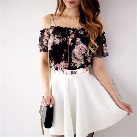 25 gentle white skirt outfits for summer styleoholic