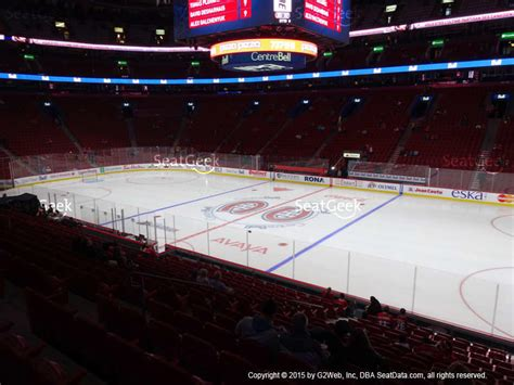 section 113 bell center bell centre section 112 seat views seatgeek