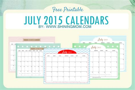 printable daily planner july 2015 july 2015 calendars would you believe it s already july