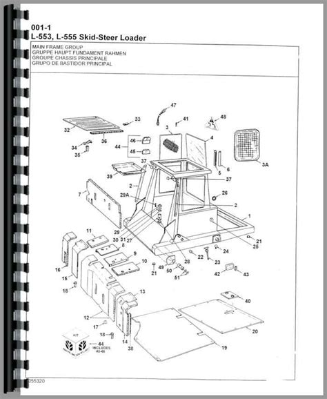 new skid steer parts diagram new skid steer parts diagram wiring diagram and
