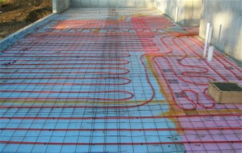 Heated Cement Floor by Concrete Floor Heating Learn The About Radiant Heat