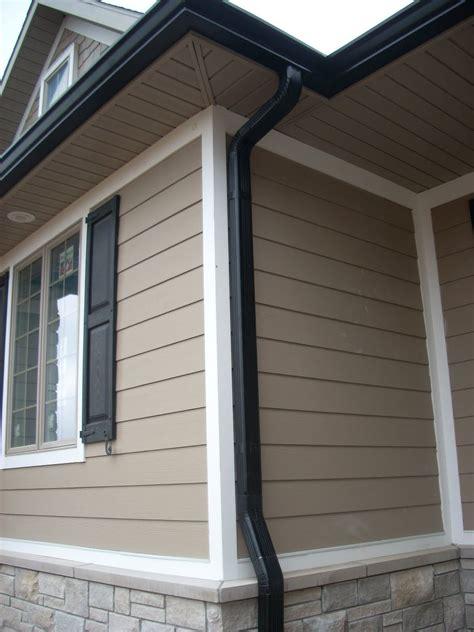 black gutters gutters miscellaneous house exterior