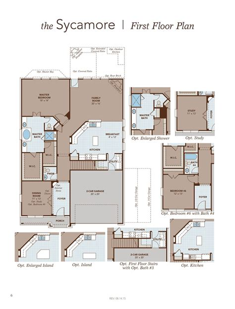sycamore floor plan sycamore home plan by gehan homes in sommerall park