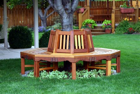 circular tree bench plans 04 fs 143 circular tree bench woodworking plan